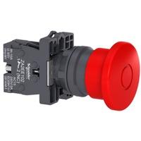 Botão 22mm Plástico Soco Emergência D40mm Empurrar... - Jabu Elétrica, Hidráulica e Iluminação