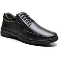 Sapato com Zíper e Elástico Sapatoterapia Preto Vi... - SAPATOTERAPIA