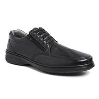 Sapato com Zíper e Elástico Sapatoterapia Carneiro... - SAPATOTERAPIA