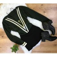Blusa Trico Verde Militar