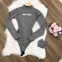 Body New York - Cinza