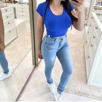 Calça Jeans Melinda | Desfiado Na Barra