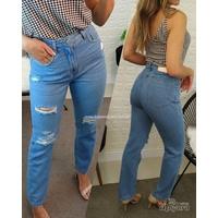 Calça Jeans Straight Clara