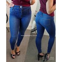 Calça Jeans Melinda Escura