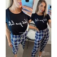 T-shirt Você Que Lute Preta