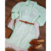 Chemise Mickey Mouse Verde Claro