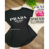 T-shirt Prada Preta
