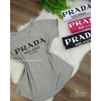 T-shirt Prada Cinza