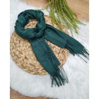 Lenço Cachecol Liso Verde