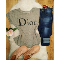 T-shirt Dior Cinza