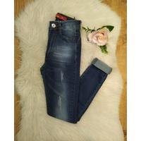 Calça Jeans Essencial Escura