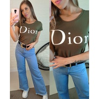 T-shirt Dior Verde