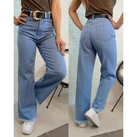 Calça Jeans Wide Leg Lisa Clara