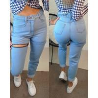 Calça Jeans Melinda Que Vira Shorts Clara