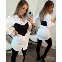 Camisa Longa Branca