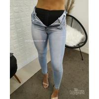 Calça Jeans Melinda com Cinta Modeladora Clarinha