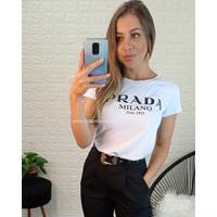 T-shirt Prada Branca