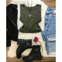 Cropped Nózinho Verde