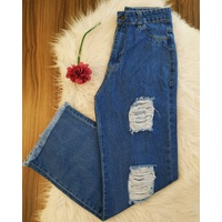 Calça Jeans Wide Leg Clara