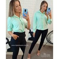 Camisa Social Verde