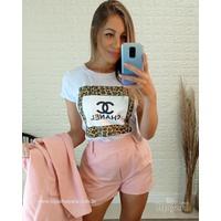 T-shirt Chanel Branca