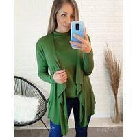 Conjunto Kimono e Blusa - Verde