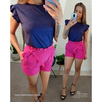 Shorts Bengaline Pink