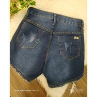 Shorts Jeans Pilily Grande Escuro