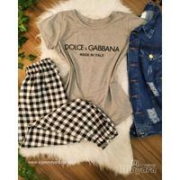 T-shirt Dolce & Gabbana Cinza