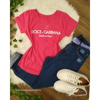 T-shirt Dolce & Gabbana Pink