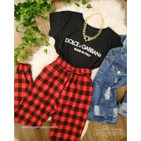 T-shirt Dolce & Gabbana Preta