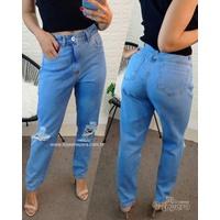 Calça Jeans Mom Clarinha