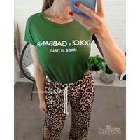 T-shirt Dolce & Gabbana Verde Militar