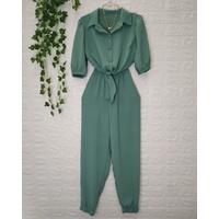 Conjunto Duna Camisa e Calça Verde