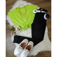 Regata Muscle Verde Lima