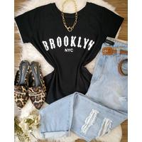 T-shirt Brooklyn Preta