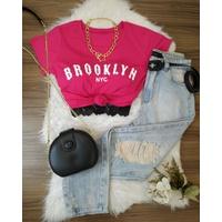 T-shirt Brooklyn Pink