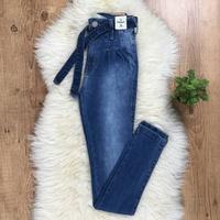 Calça Jeans Pilily Com Amarra