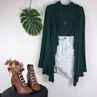Conjunto Kimono e Blusa - Verde Forte