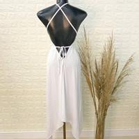 Vestido Com Pontas Branco
