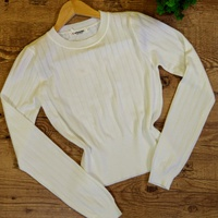 Blusa Tricot Lisa - Branco