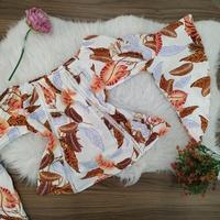 Blusa Bata Ciganinha Floral