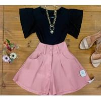 Shorts Bengaline Rosa