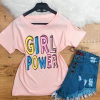 Blusa Rosa - Girl Power