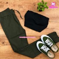 Calça Verde Com Bolso