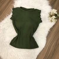 Blusa C/ Bojo Verde Militar