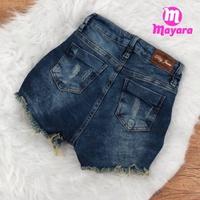 Shorts Jeans Pilily Com Cinto Em Corda