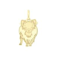 Pingente Cachorro Spitz Alemão em Ouro 18K - MI13679 - MICHELETTI JOIAS