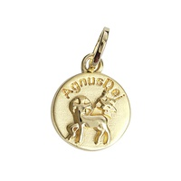 Pingente Agnus Dei em Ouro 18K - MI8217 - MICHELETTI JOIAS