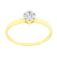 Anel com Diamantes em Ouro 18K - MI17991 - MICHELETTI JOIAS